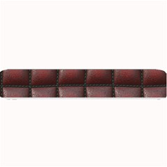 Red Cell Leather Retro Car Seat Textures Small Bar Mats