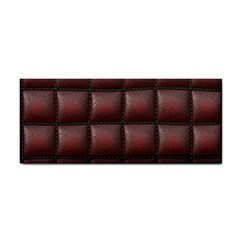Red Cell Leather Retro Car Seat Textures Cosmetic Storage Cases