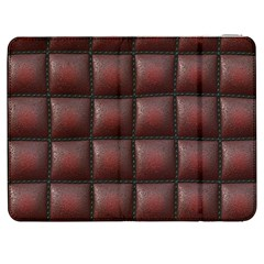 Red Cell Leather Retro Car Seat Textures Samsung Galaxy Tab 7  P1000 Flip Case