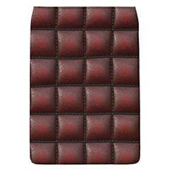 Red Cell Leather Retro Car Seat Textures Flap Covers (S)