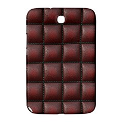 Red Cell Leather Retro Car Seat Textures Samsung Galaxy Note 8 0 N5100 Hardshell Case