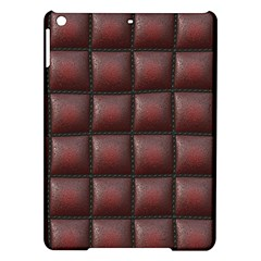 Red Cell Leather Retro Car Seat Textures iPad Air Hardshell Cases