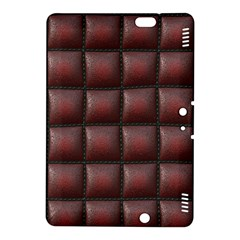 Red Cell Leather Retro Car Seat Textures Kindle Fire HDX 8.9  Hardshell Case