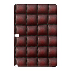 Red Cell Leather Retro Car Seat Textures Samsung Galaxy Tab Pro 10 1 Hardshell Case