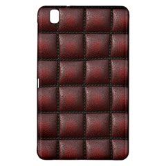 Red Cell Leather Retro Car Seat Textures Samsung Galaxy Tab Pro 8 4 Hardshell Case