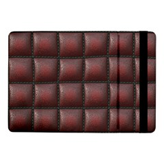 Red Cell Leather Retro Car Seat Textures Samsung Galaxy Tab Pro 10.1  Flip Case