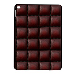Red Cell Leather Retro Car Seat Textures Ipad Air 2 Hardshell Cases