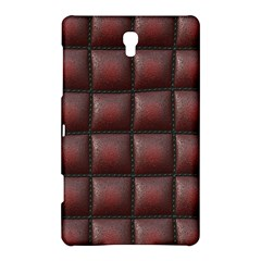 Red Cell Leather Retro Car Seat Textures Samsung Galaxy Tab S (8.4 ) Hardshell Case