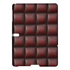 Red Cell Leather Retro Car Seat Textures Samsung Galaxy Tab S (10.5 ) Hardshell Case