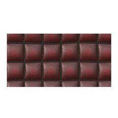 Red Cell Leather Retro Car Seat Textures Satin Wrap