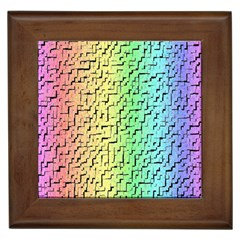 A Creative Colorful Background Framed Tiles