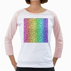 A Creative Colorful Background Girly Raglans
