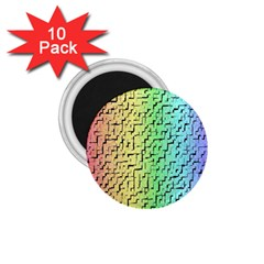 A Creative Colorful Background 1.75  Magnets (10 pack)