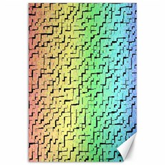 A Creative Colorful Background Canvas 12  x 18