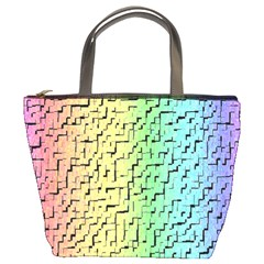 A Creative Colorful Background Bucket Bags