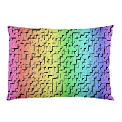 A Creative Colorful Background Pillow Case