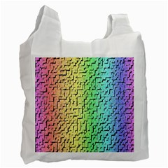 A Creative Colorful Background Recycle Bag (two Side)