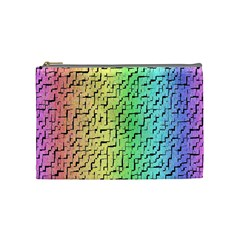 A Creative Colorful Background Cosmetic Bag (Medium)