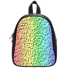 A Creative Colorful Background School Bags (Small)