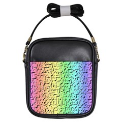 A Creative Colorful Background Girls Sling Bags
