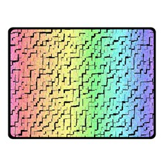A Creative Colorful Background Fleece Blanket (Small)