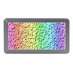 A Creative Colorful Background Memory Card Reader (mini)