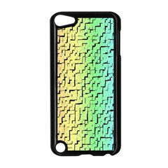 A Creative Colorful Background Apple Ipod Touch 5 Case (black)
