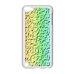 A Creative Colorful Background Apple Ipod Touch 5 Case (white)