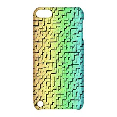 A Creative Colorful Background Apple Ipod Touch 5 Hardshell Case With Stand
