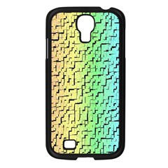 A Creative Colorful Background Samsung Galaxy S4 I9500/ I9505 Case (Black)