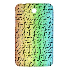 A Creative Colorful Background Samsung Galaxy Tab 3 (7 ) P3200 Hardshell Case