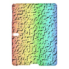 A Creative Colorful Background Samsung Galaxy Tab S (10 5 ) Hardshell Case