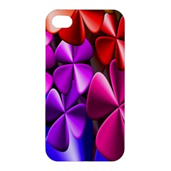 Colorful Flower Floral Rainbow Apple iPhone 4/4S Hardshell Case
