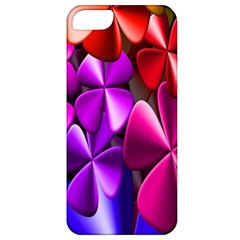 Colorful Flower Floral Rainbow Apple iPhone 5 Classic Hardshell Case