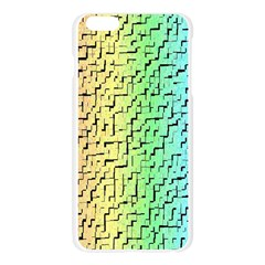 A Creative Colorful Background Apple Seamless iPhone 6 Plus/6S Plus Case (Transparent)