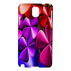 Colorful Flower Floral Rainbow Samsung Galaxy Note 3 N9005 Hardshell Case