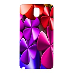 Colorful Flower Floral Rainbow Samsung Galaxy Note 3 N9005 Hardshell Back Case