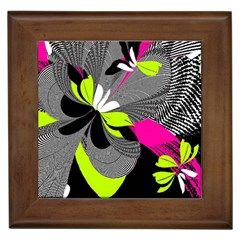 Abstract Illustration Nameless Fantasy Framed Tiles