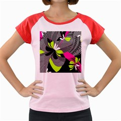 Abstract Illustration Nameless Fantasy Women s Cap Sleeve T-Shirt