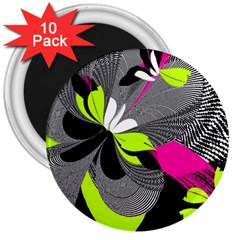Abstract Illustration Nameless Fantasy 3  Magnets (10 pack)