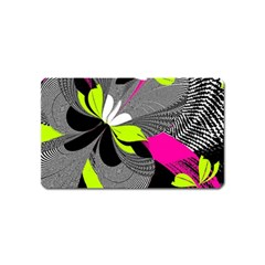 Abstract Illustration Nameless Fantasy Magnet (Name Card)