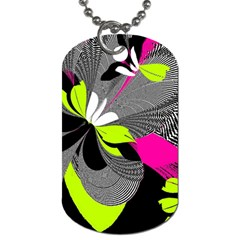 Abstract Illustration Nameless Fantasy Dog Tag (Two Sides)