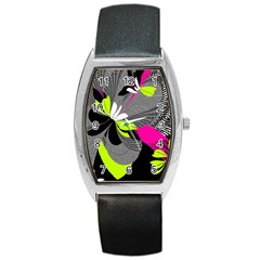 Abstract Illustration Nameless Fantasy Barrel Style Metal Watch