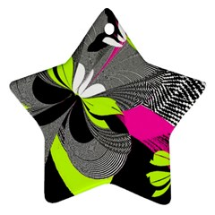 Abstract Illustration Nameless Fantasy Star Ornament (two Sides)