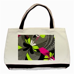 Abstract Illustration Nameless Fantasy Basic Tote Bag (two Sides)