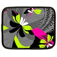 Abstract Illustration Nameless Fantasy Netbook Case (large)