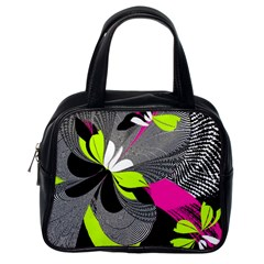 Abstract Illustration Nameless Fantasy Classic Handbags (one Side)