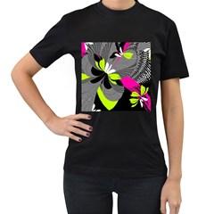 Abstract Illustration Nameless Fantasy Women s T-Shirt (Black)