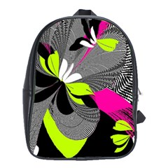 Abstract Illustration Nameless Fantasy School Bags(Large)