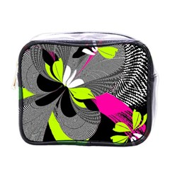 Abstract Illustration Nameless Fantasy Mini Toiletries Bags